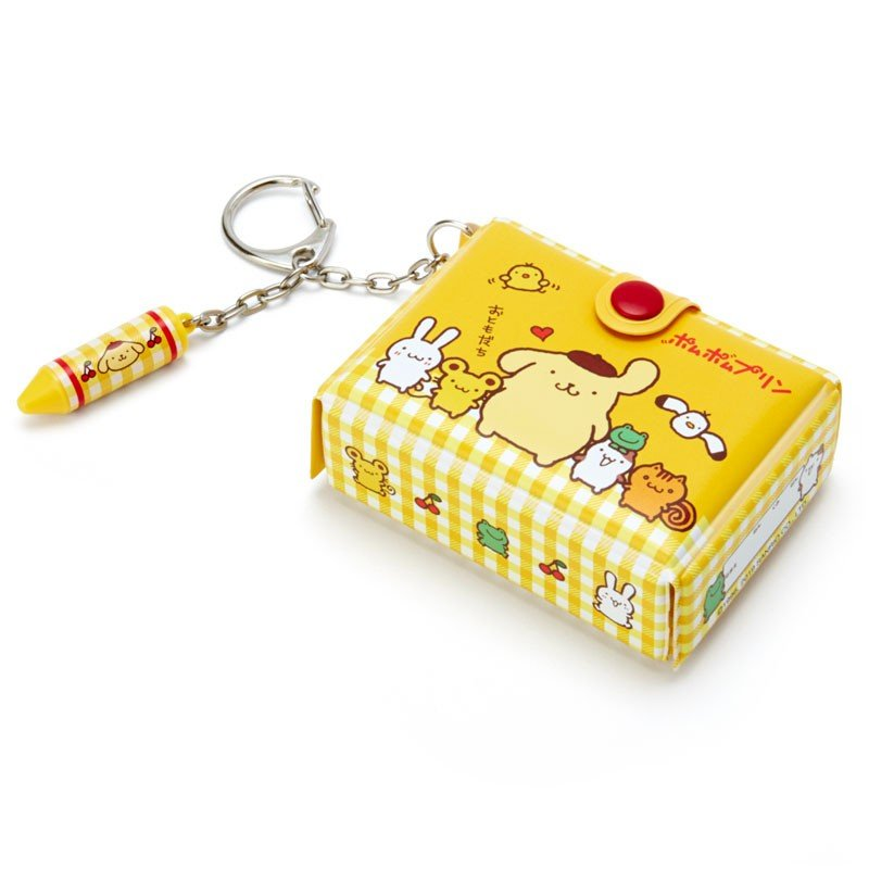 Pom Pom Purin Keychain Key Holder Tool Box shape Sanrio Japan