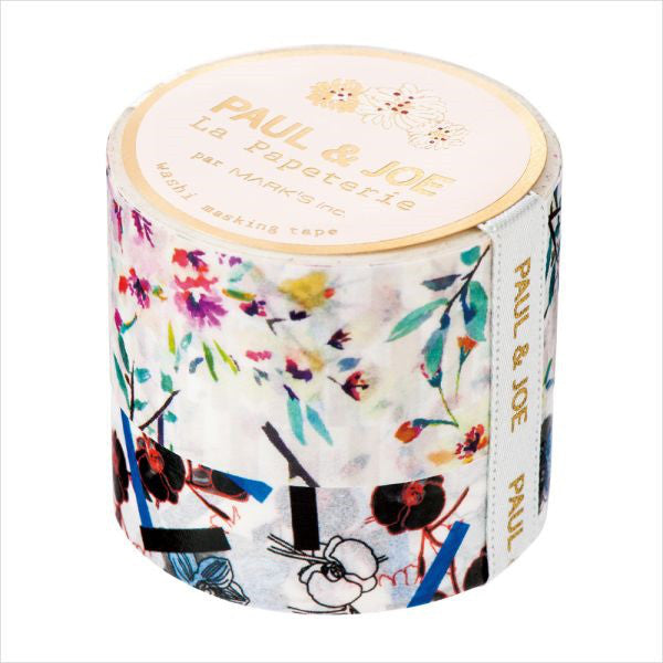 Masking Tape Sticker E Stripe Bouquet PAUL & JOE Japan