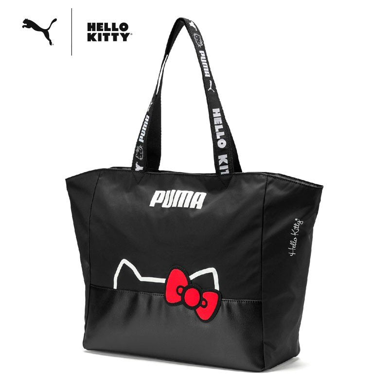 Hello Kitty PUMA Big Tote Bag 14L Black Sanrio Japan