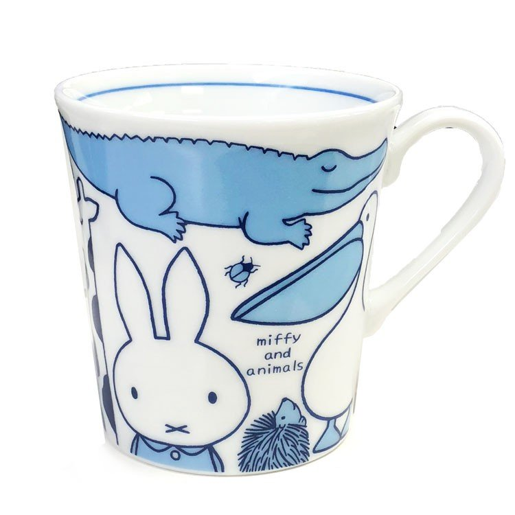 Ceramic Mug Cup Miffy & Animals Japan