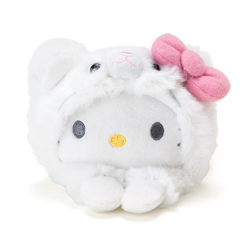 Hello Kitty Mame Petit Plush Mascot Cat Sanrio Japan Tsum Tsum