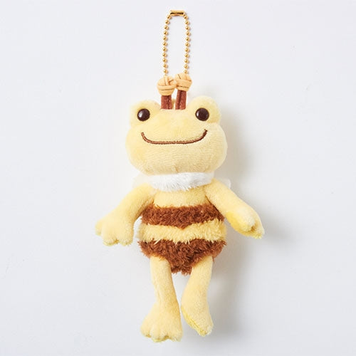Pickles the Frog Plush Keychain Bee Japan