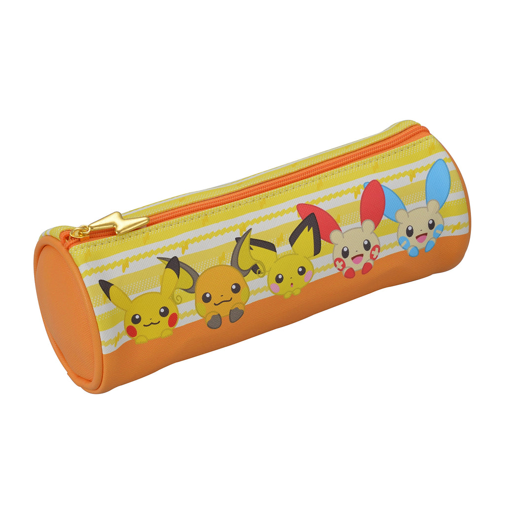 Pikachu Pen Case Pencil Pouch HOPPE DAISHUGO Pokemon Center Japan Original