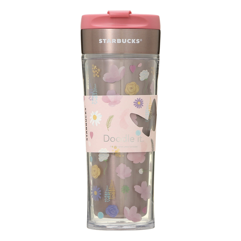 Stainless Create Your Tumbler Spring Bloom 473ml SAKURA 2021 Starbucks Japan