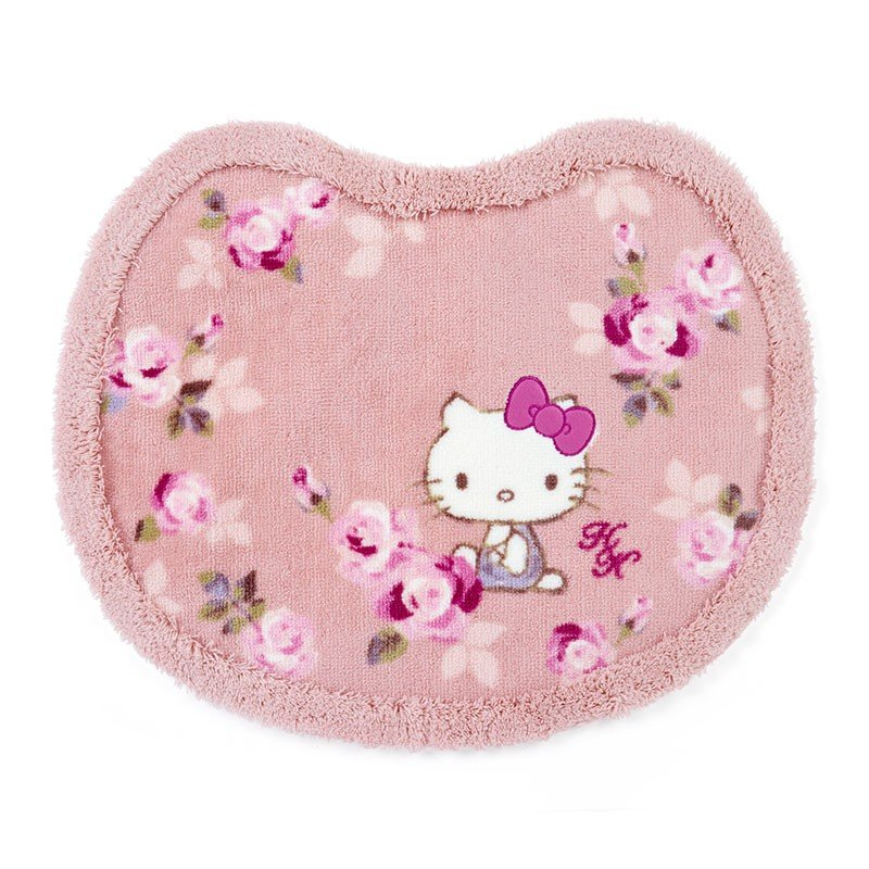 Hello Kitty Bathroom Mat Lace Pink Sanrio Japan