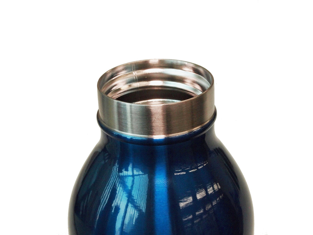 Water Bottle Vacuum Insulation Screw Mug Tumbler 0.35L Navy mosh! Japan