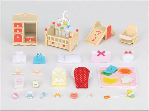 Sylvanian Families Baby Room Set Se-153 Japan (Calico Critters)