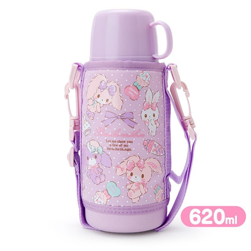 Bonbonribbon 2WAY Stainless Bottle 620ml Party Sanrio Japan