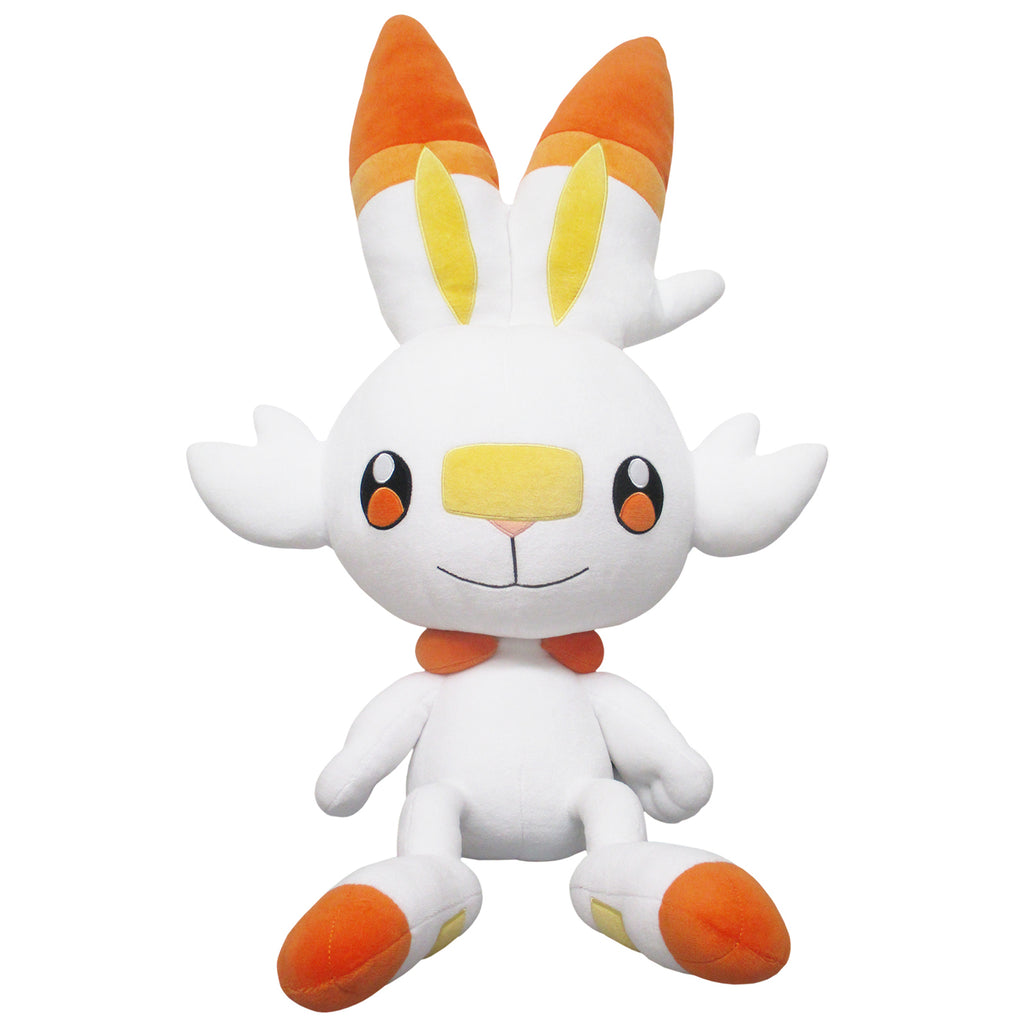 Scorbunny Hibanny Fluffy Soft Cushion Big Plush Pokemon Star Center Japan