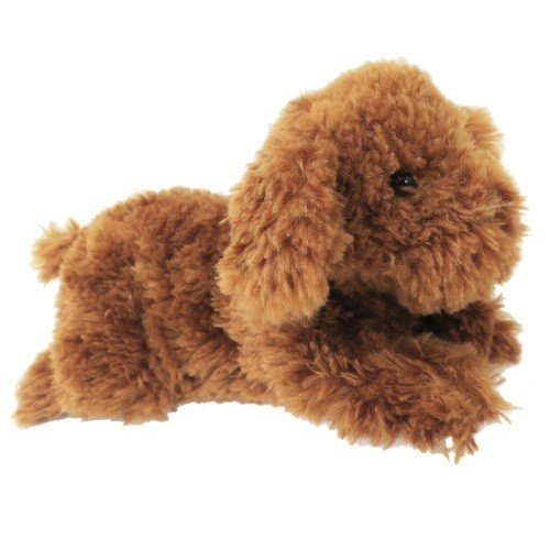 Hizawanko Dog Toy Poodle Warm Plush Doll Brown Sunlemon Japan