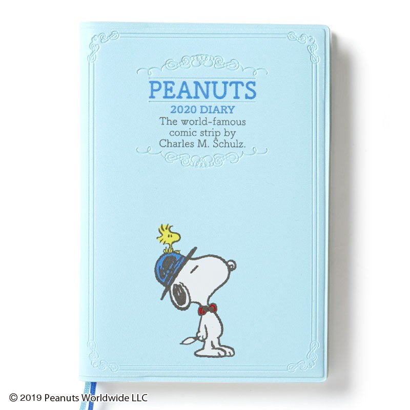 Snoopy 2020 Schedule Book A6 Weekly Block PEANUTS Sanrio Japan Diary