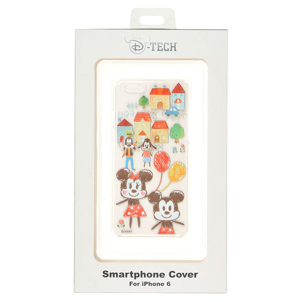 Graffiti Mickey Minnie iPhone 6 6s cover case Disney Store Japan