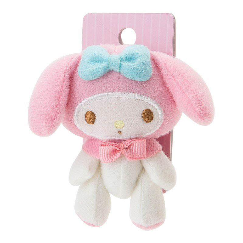 My Melody mini Plush Doll Ponytail Holder Sanrio Japan