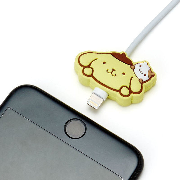 Pom Pom Purin Cable Mascot for iPhone Sanrio Japan Mobile Accessory