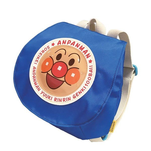 Anpanman Kids Backpack Blue Japan 4992078011261