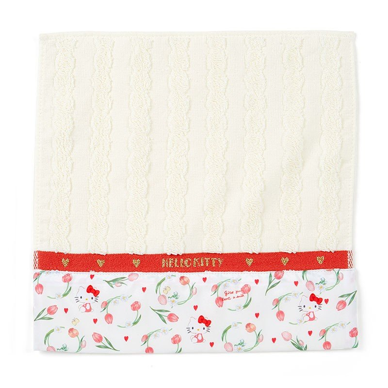 Hello Kitty mini Towel HAPPY SPRING Sanrio Japan