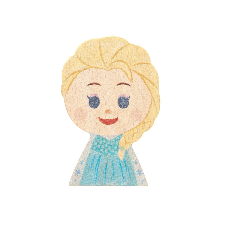 Frozen Elsa KIDEA Toy Wooden Blocks Disney Store Japan