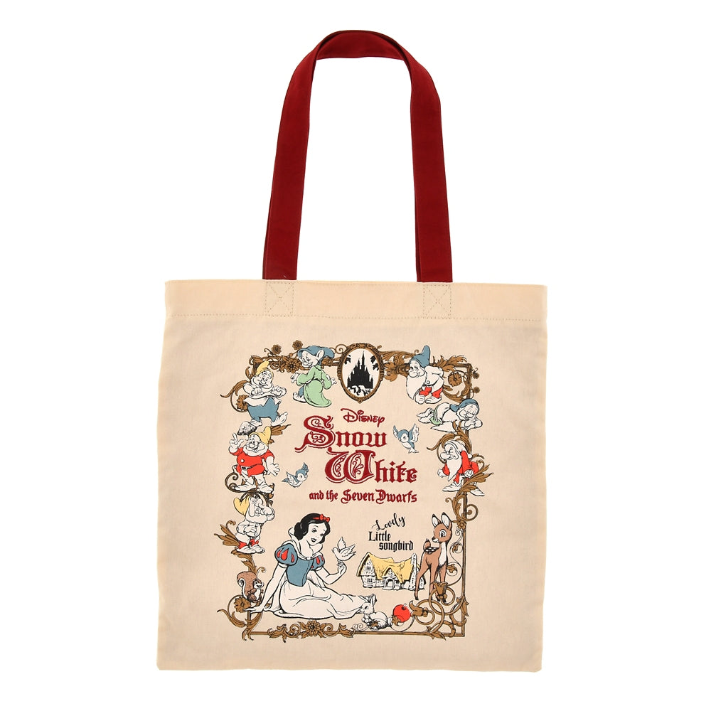 Tote Bag Snow White and the Seven Dwarfs Disney Store Japan 2021