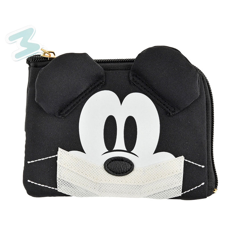 Mickey Tissue Mask Pouch KAFUN 2020 Pollen Disney Store Japan