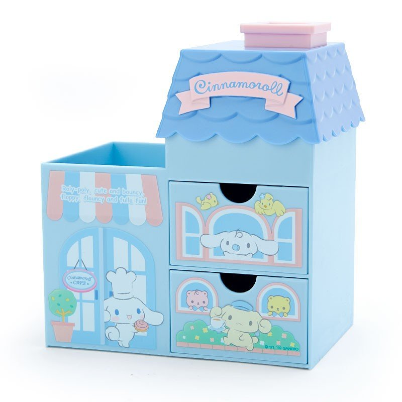 Sanrio Characters House Shaped Plastic Chest