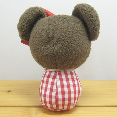 Baby Jackie Plush Doll Dress up Plaid the bears' school Japan