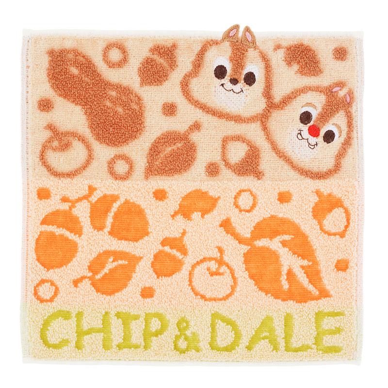 Chip & Dale mini Towel Jump Out Disney Store Japan