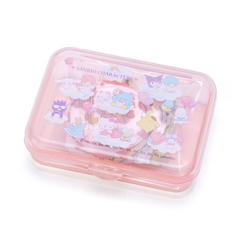 Sticker in Plastic Case Character B Sanrio Japan