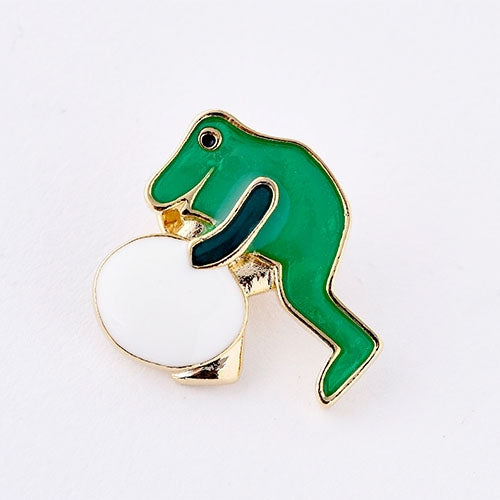 An Extraordinary Egg Frog Tack Pin Badge Leo Lionni Japan