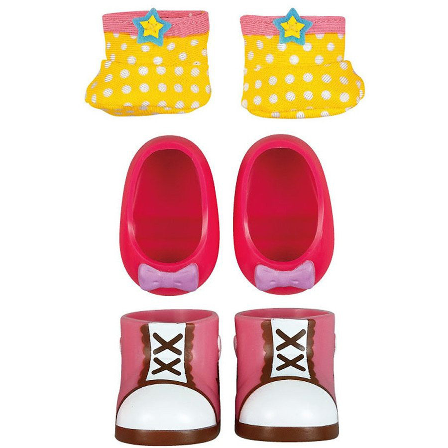 Costume for Mell chan Doll Cute Shoes 3pcs Set Pilot Japan