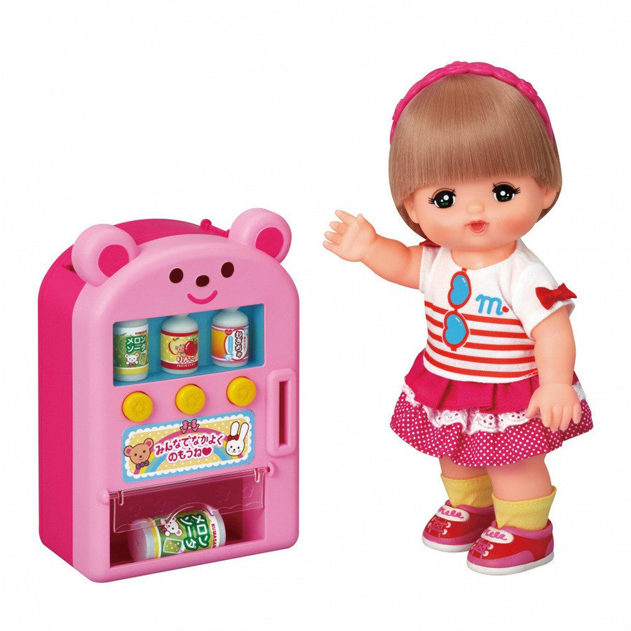Mell Chan Vending Machine Pretend Play Toy Pilot Japan