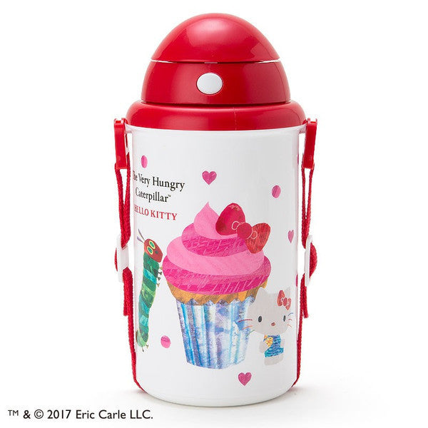 Hello Kitty The Very Hungry Caterpillar Cold Bottle Heart Sanrio Japan