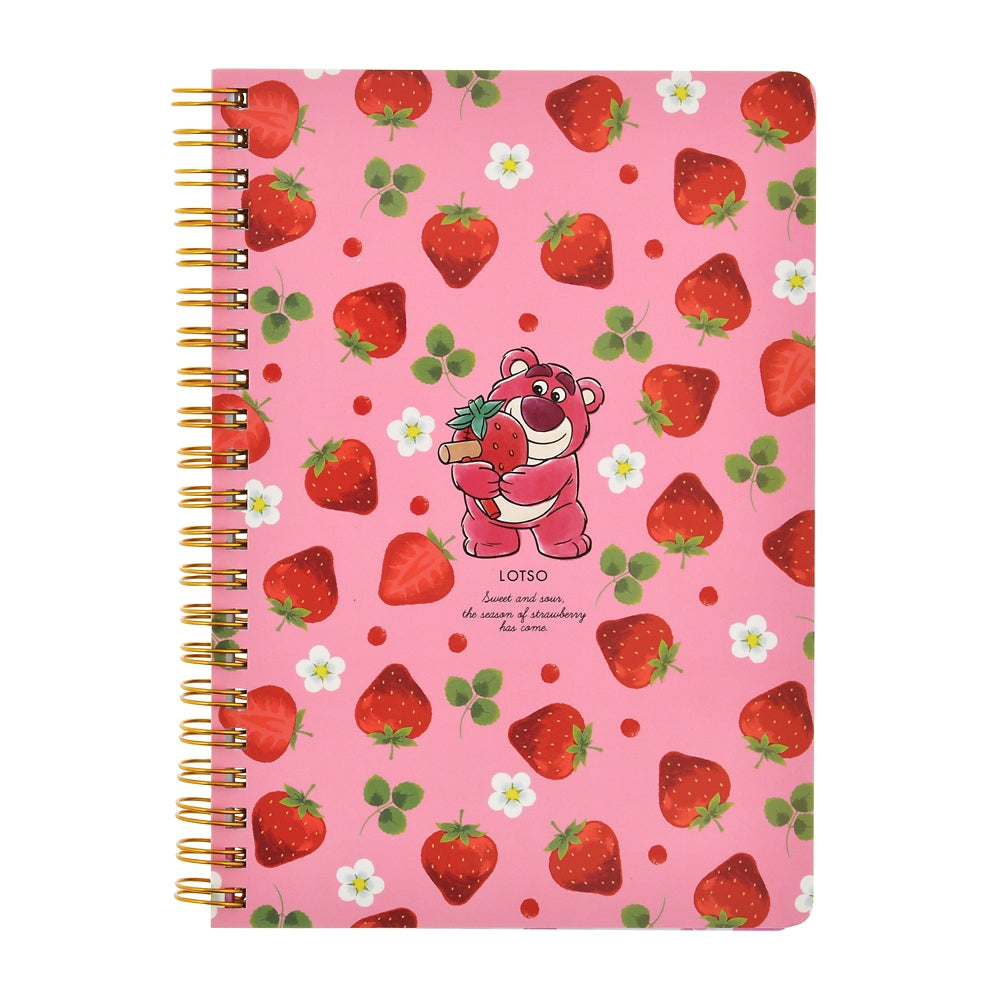 Toy Story LOTS O HUGGIN Ring Notebook Strawberry Ichigo 2021 Disney Store Japan