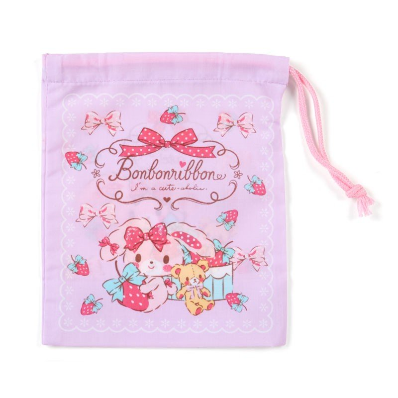 Bonbonribbon Cup Pouch Strawberry Sanrio Japan