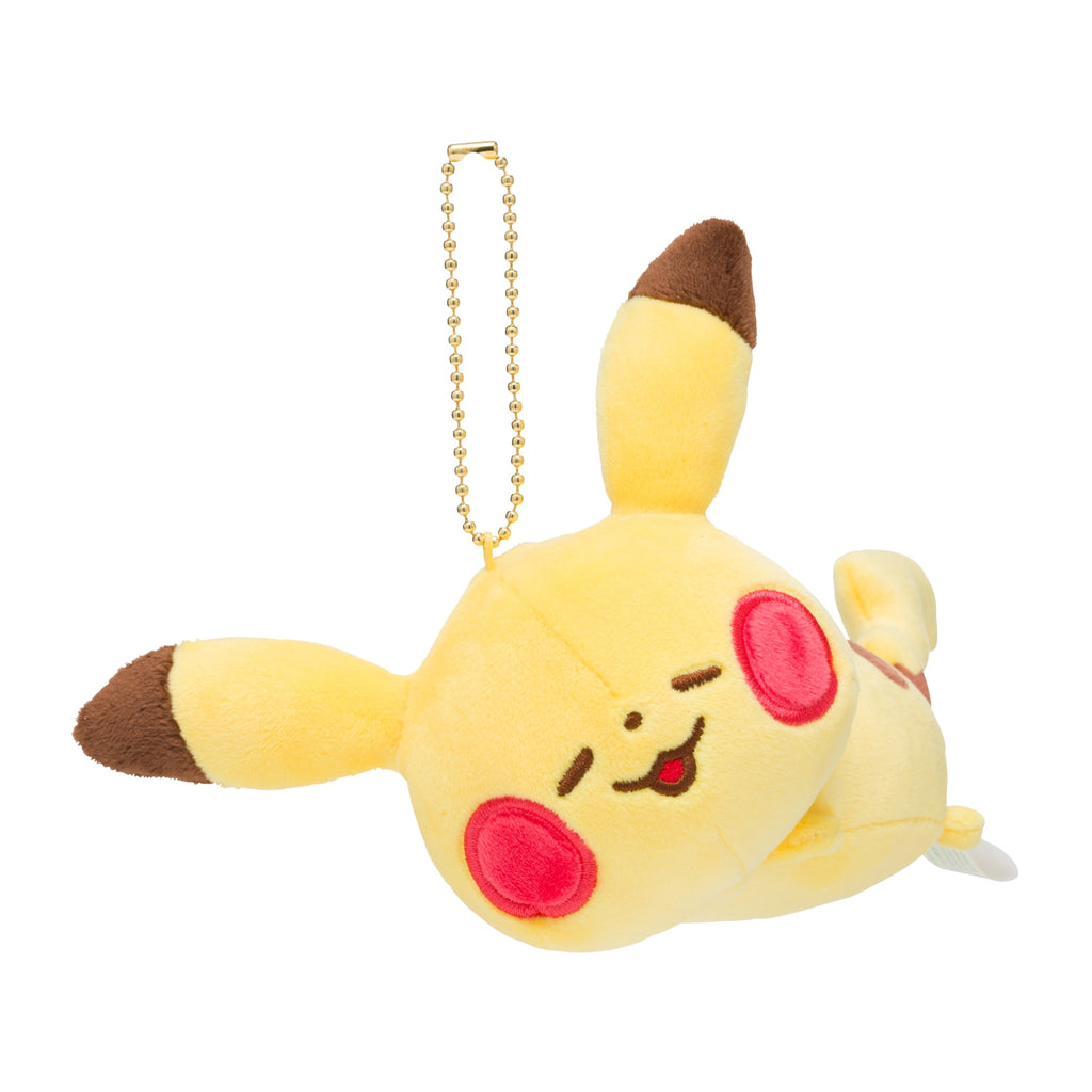 Pikachu Plush Keychain Pokemon Yurutto Japan Center