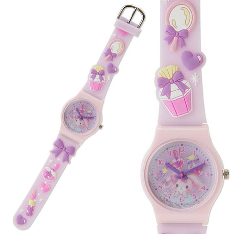 Bonbonribbon Kids Rubber Watch Cosmetics Sanrio Japan