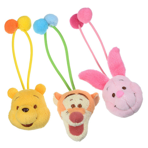 Winnie the Pooh & Friends Ponytail Holder POOH'S HOUSE Disney Store Japan