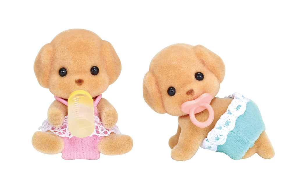 Toy Poodle Twins Doll I-114 Sylvanian Families Japan Calico Critters Epoch