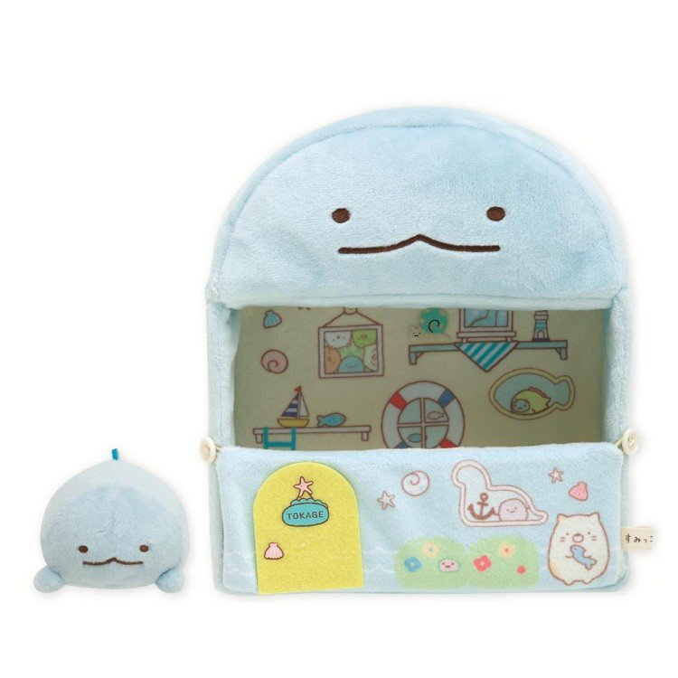 Sumikko Gurashi Tokage Lizard Plush Doll Went to Tokage's House San-X Japan