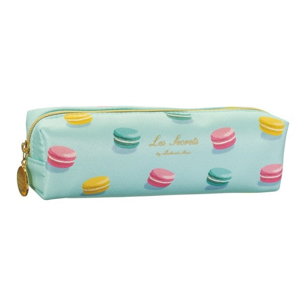 Pen Case Pencil Pouch Macarons Mint Laduree Japan