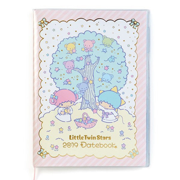 Little Twin Stars 2019 Schedule Book A5 Monthly Sanrio Japan Kiki Lala