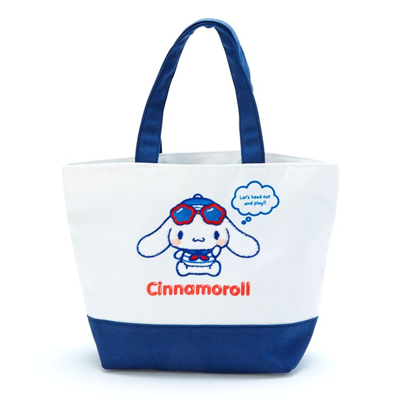 Cinnamoroll mini Tote Bag Marine Sanrio Japan