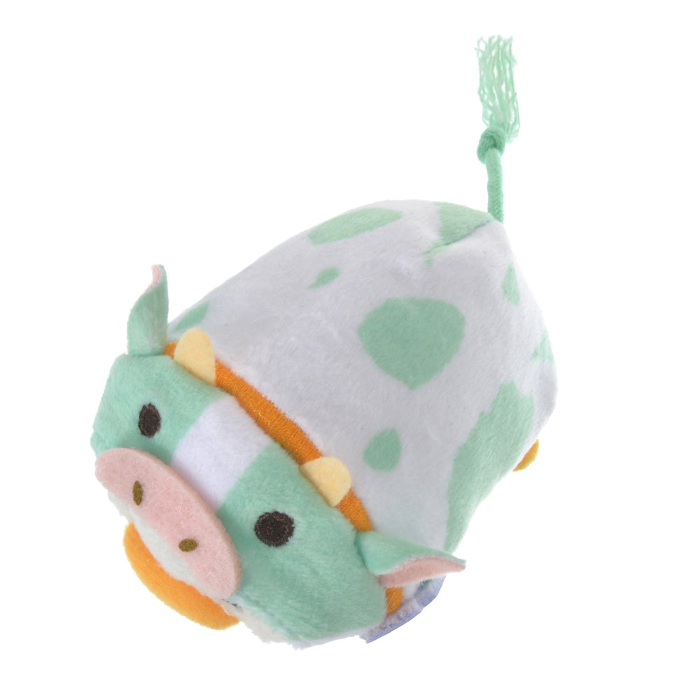 Donald Tsum Tsum Plush mini S Eto Zodiac 2021 Cow Disney Store Japan New Year