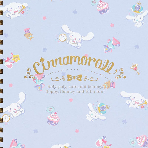 Cinnamoroll A5 Notebook Happiness Girl Sanrio Japan
