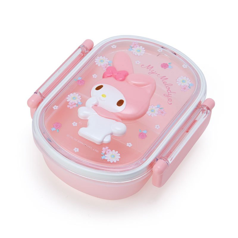 My Melody Lock Lunch Box Bento Relief Sanrio Japan 2021
