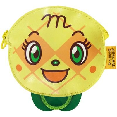 Melon panna Coin Case Pouch Anpanman Kids Japan ANJ-580