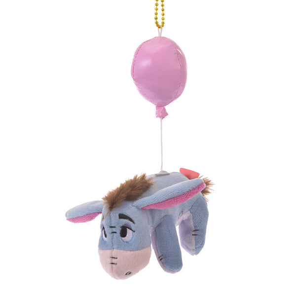 Eeyore Plush Keychain BALLOON Color of Pooh Disney Store Japan