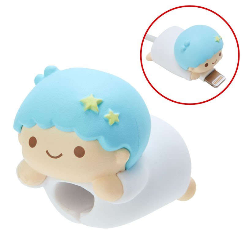 Little Twin Stars Kiki CABLE BITE Cable Protection for iPhone Sanrio Japan