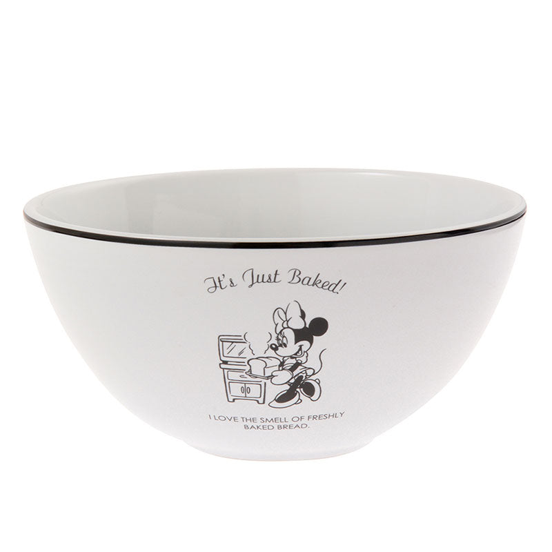 Minnie Ceramic Bowl Otona Kitchen Disney Store Japan