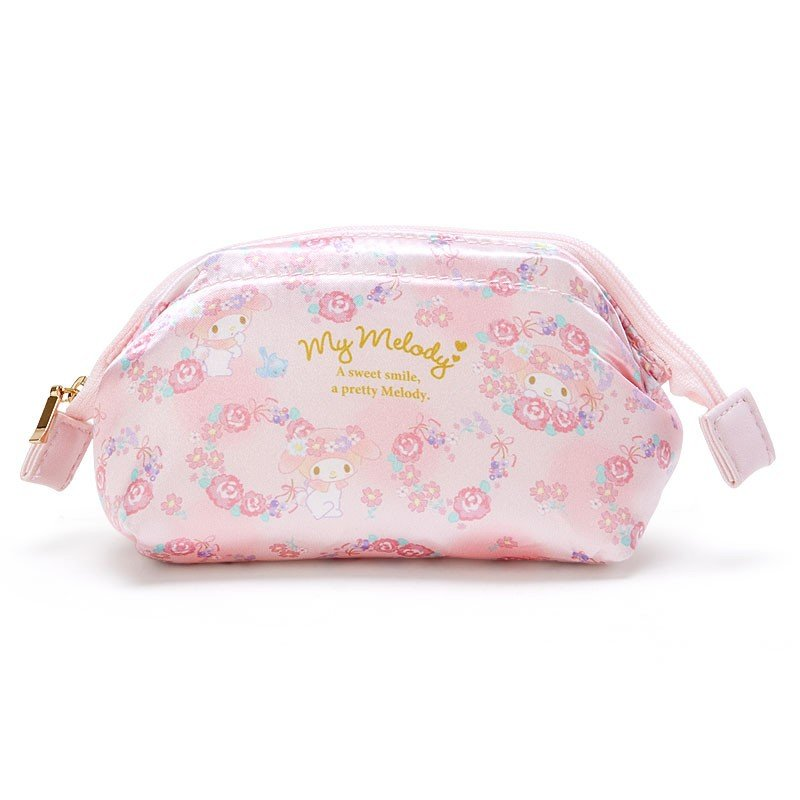 My Melody Pouch Flower Cosmetics Sanrio Japan