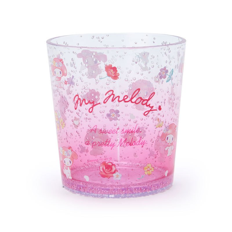 My Melody Clear Tumbler Cup Sanrio Japan 2021